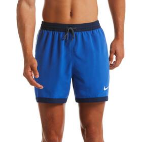 "Nike Swim Funfetti Racer 5"" Shorts Volley Hombre, azul"